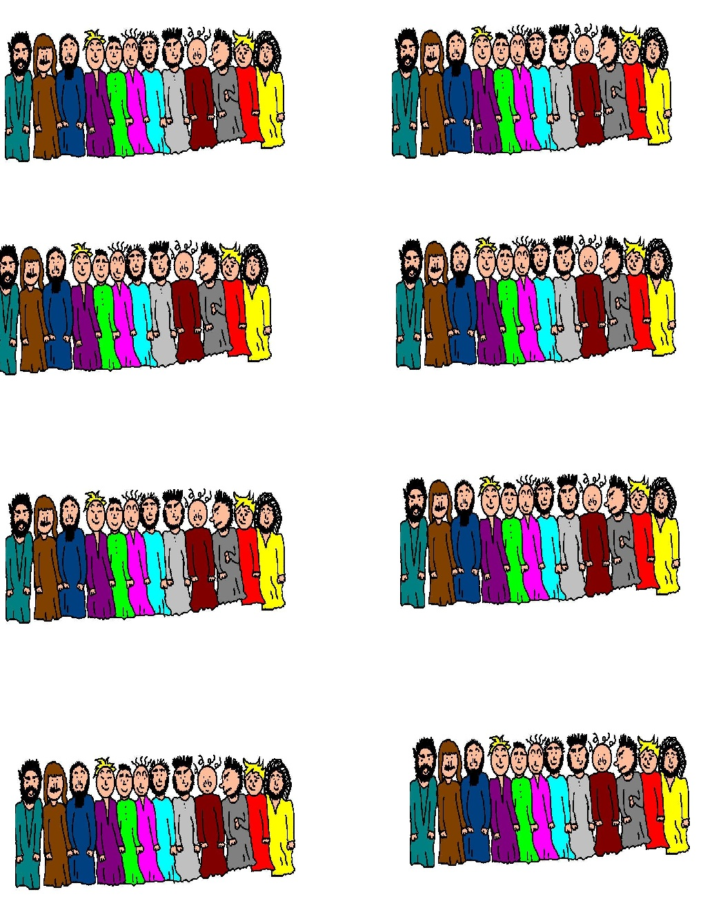 The Twelve Apostles clipart #13, Download drawings