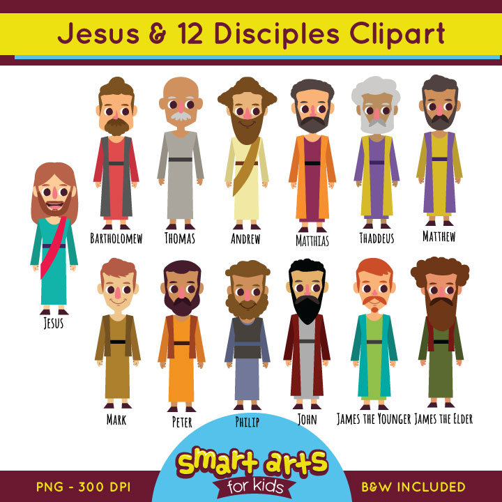 12 Apostles clipart #4, Download drawings