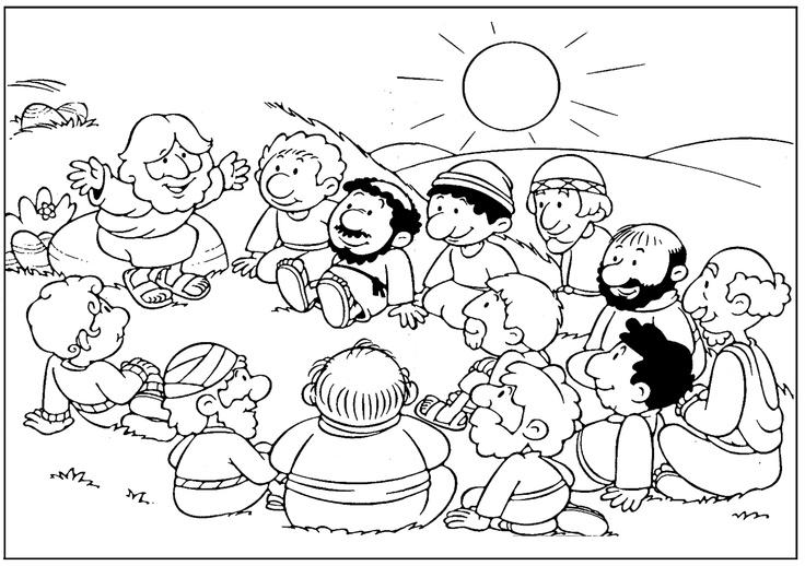 Apostles coloring #16, Download drawings