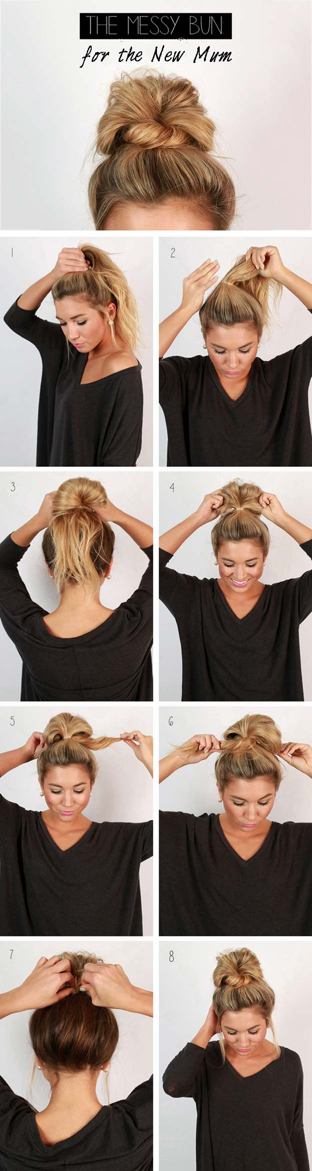 20 DIY Cool Easy Hairstyles