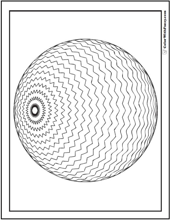 3D coloring #8, Download drawings