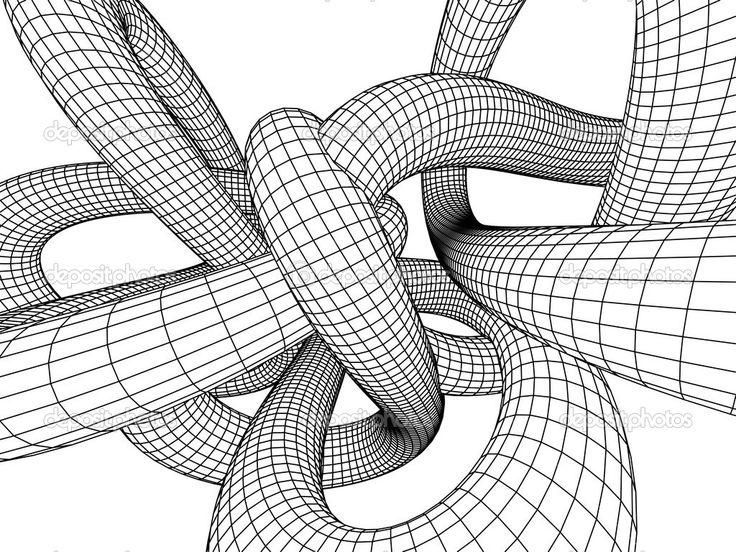 3D coloring #18, Download drawings
