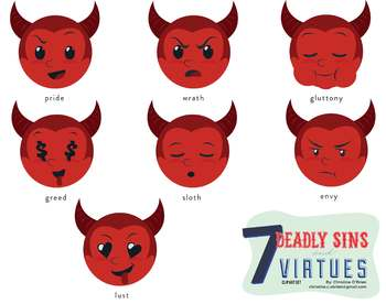 7 Deadly Sins clipart #19, Download drawings
