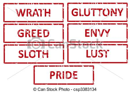 7 Deadly Sins clipart #11, Download drawings