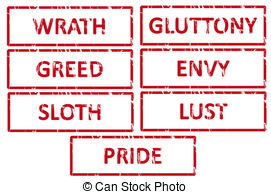 7 Deadly Sins clipart #18, Download drawings