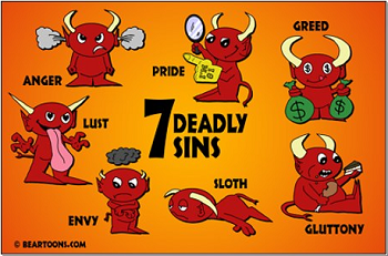 7 Deadly Sins clipart #20, Download drawings