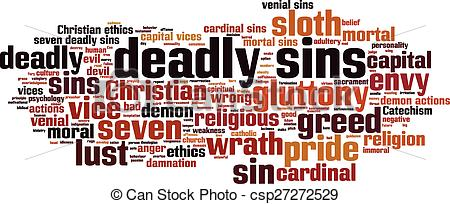 7 Deadly Sins clipart #14, Download drawings