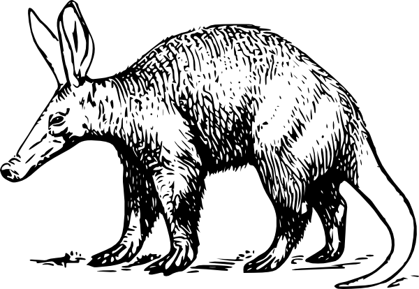 Aardvark clipart #12, Download drawings