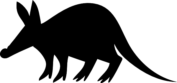 Aardvark clipart #13, Download drawings