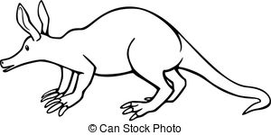Aardvark clipart #8, Download drawings