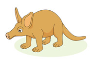 Aardvark clipart #1, Download drawings