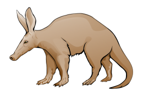 Aardvark clipart #6, Download drawings