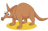 Aardvark clipart #18, Download drawings