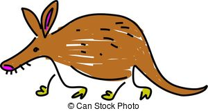 Aardvark clipart #4, Download drawings