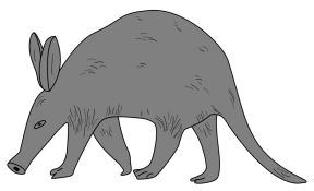 Aardvark clipart #11, Download drawings