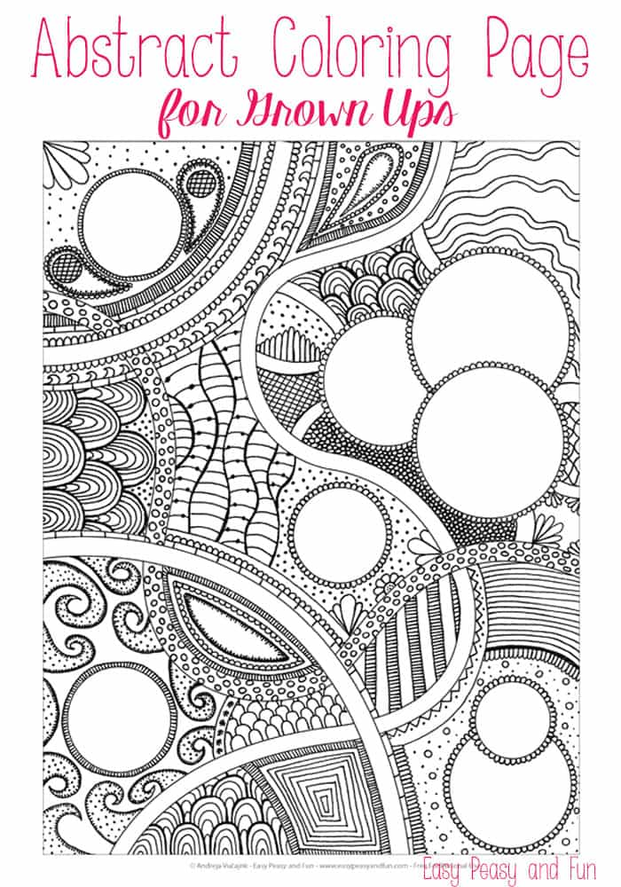 Abstract coloring #15, Download drawings