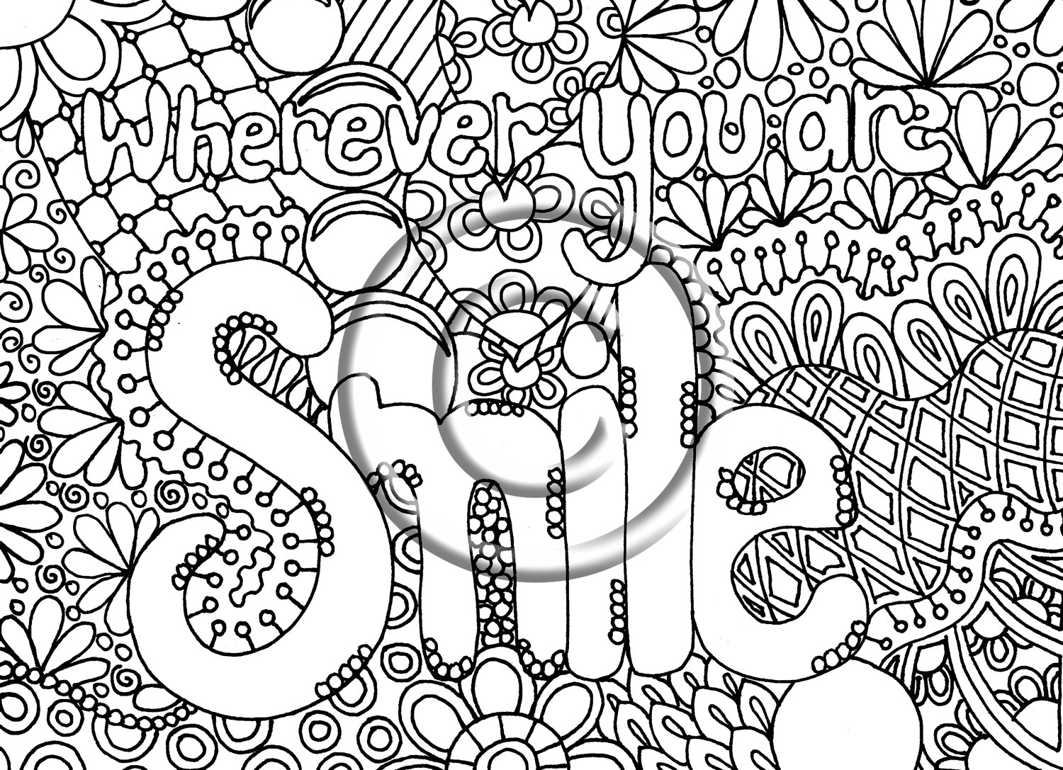 Abstract coloring #9, Download drawings