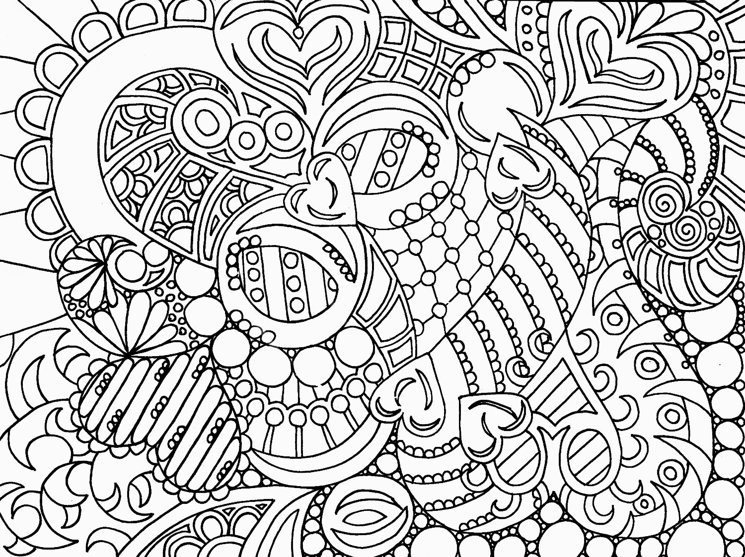 Abstract coloring #10, Download drawings
