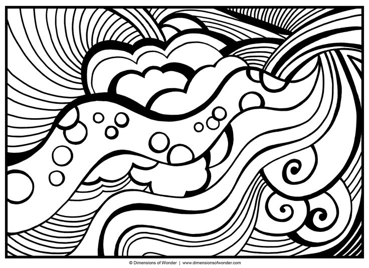 Abstract coloring #12, Download drawings