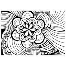 Abstract coloring #13, Download drawings