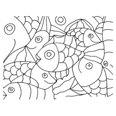 Abstract coloring #18, Download drawings