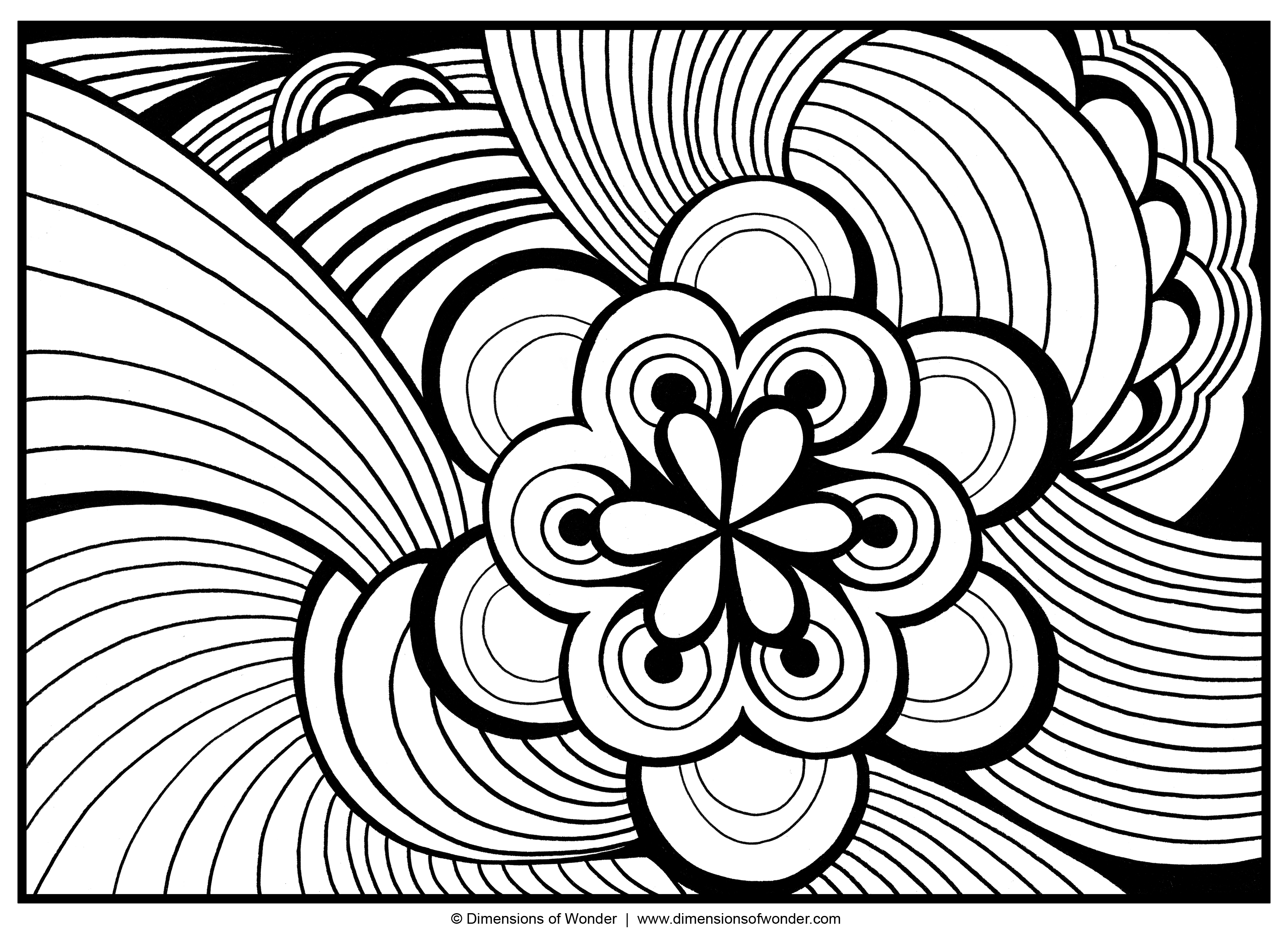 Abstract coloring #6, Download drawings