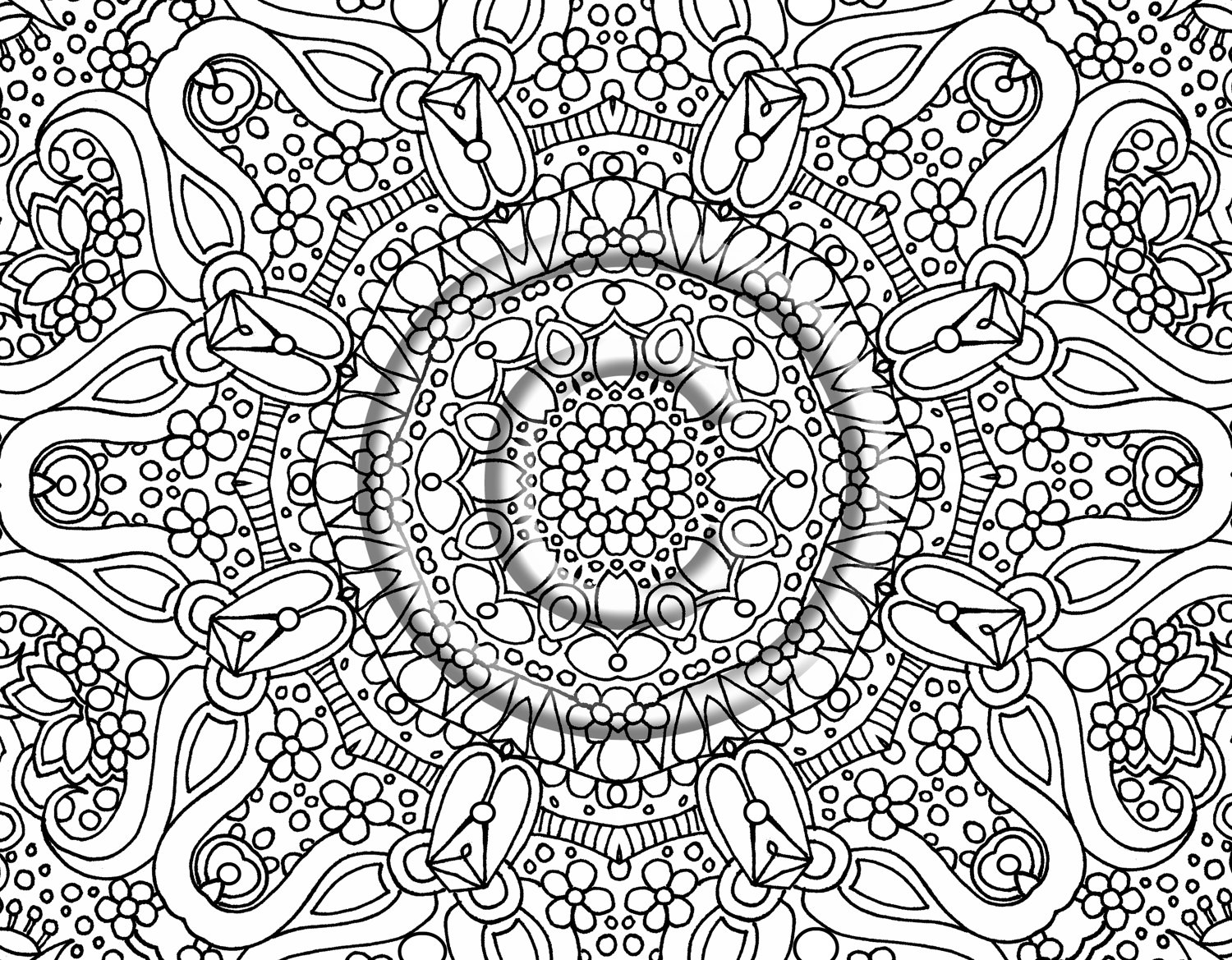 Abstract coloring #5, Download drawings