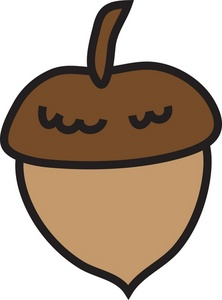 Acorn clipart #1, Download drawings