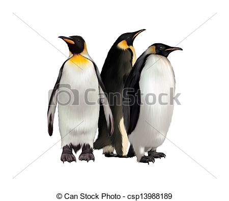 King Emperor Penguins clipart #17, Download drawings