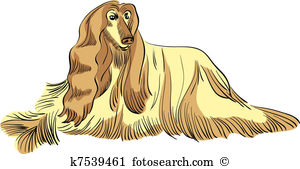 Afghan Hound clipart #2, Download drawings