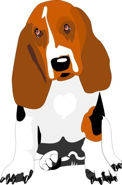 Basset Hound svg #1, Download drawings