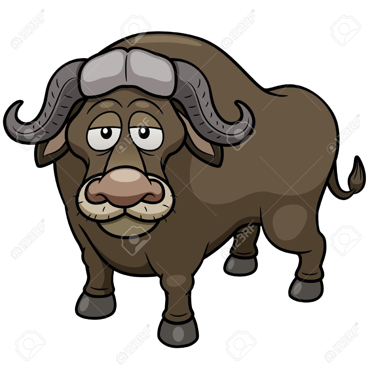 African Buffalo clipart #17, Download drawings