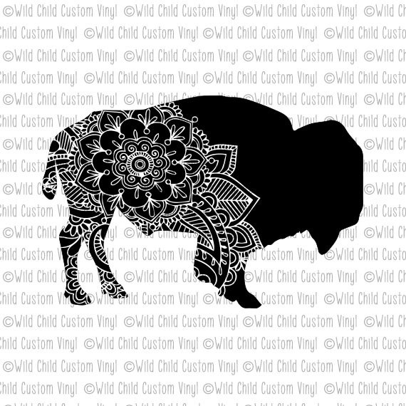 Buffalo svg #3, Download drawings