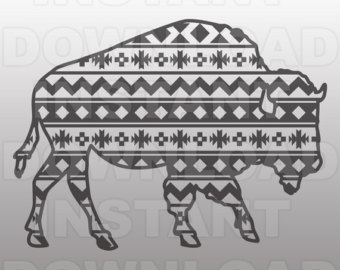 African Buffalo svg #1, Download drawings