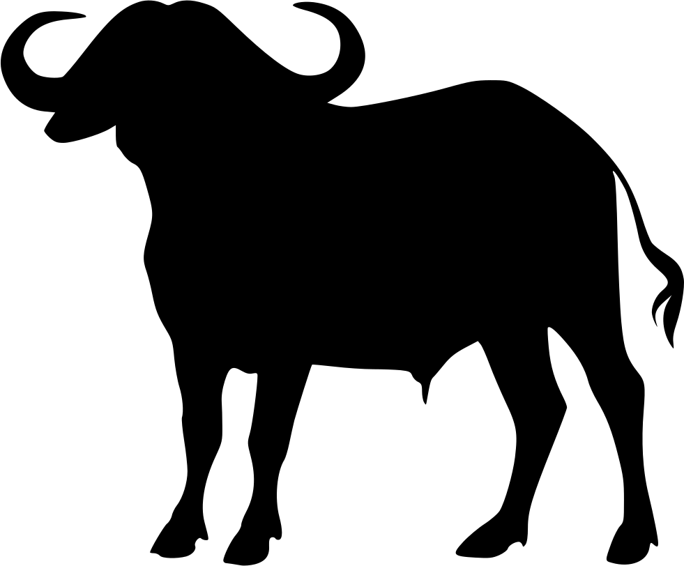 African Buffalo svg #12, Download drawings
