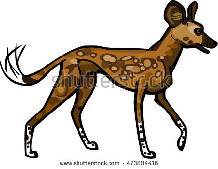 Wild Dog clipart #5, Download drawings