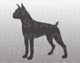 Boxer svg #17, Download drawings