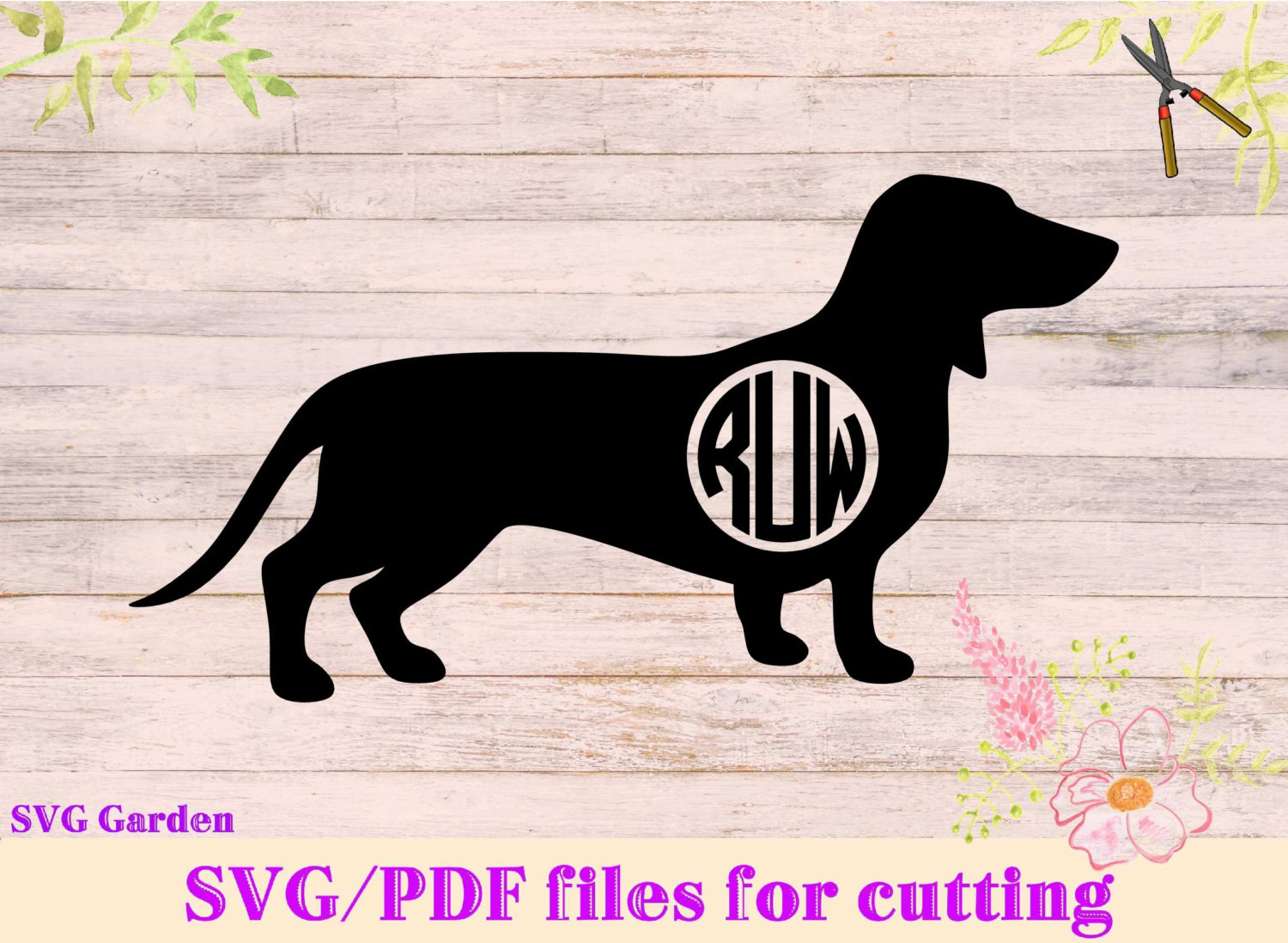 Dachshund svg #1, Download drawings