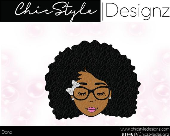 afro girl svg #453, Download drawings