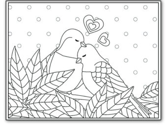 Agapornis coloring #1, Download drawings