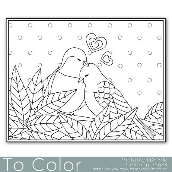 Agapornis coloring #8, Download drawings