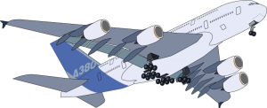 Airbus clipart #6, Download drawings