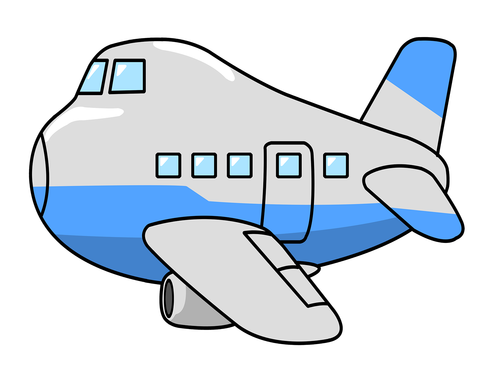 Airplane clipart #2, Download drawings