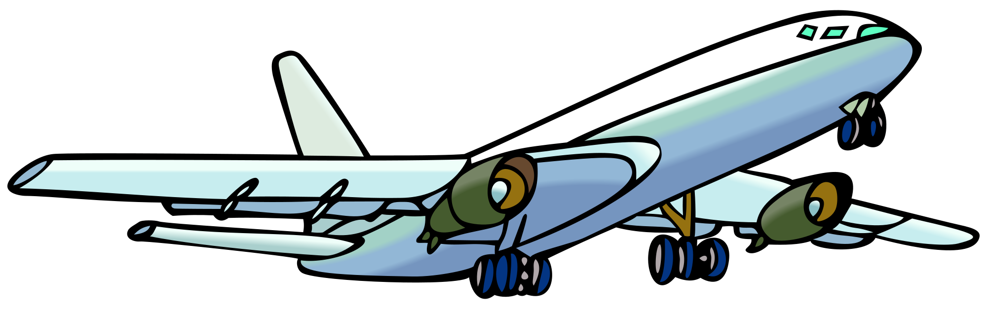 Aircraft clipart #2, Download drawings