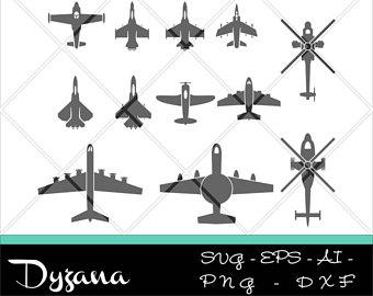 Aircraft svg #6, Download drawings