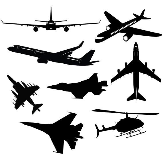 Aircraft svg #7, Download drawings