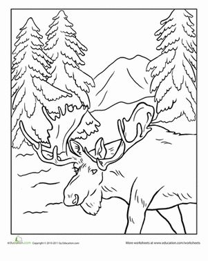 Alaska coloring #17, Download drawings