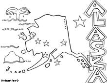 Alaska coloring #12, Download drawings