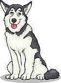Alaskan Malamute clipart #18, Download drawings