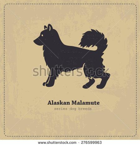 Alaskan Malamute svg #11, Download drawings